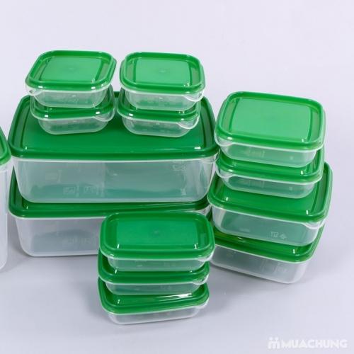 Bộ Hộp Nhựa Đựng Thức Ăn 17 Món Tiện Dụng Ikea